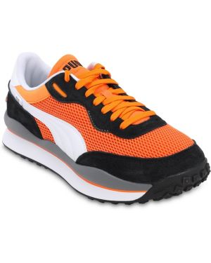 Sneakersy sznurowane koronkowe z siateczką Puma Select