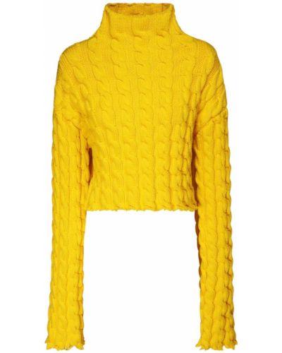 Sweter z kołnierzem Balenciaga