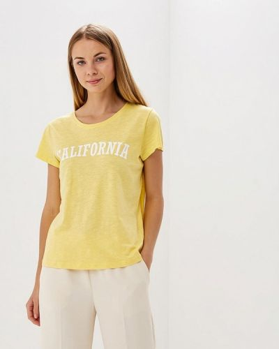 Желтая футболка Blendshe