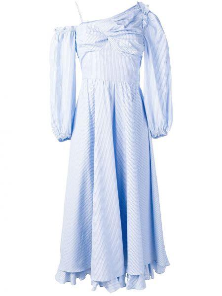 Приталенное расклешенное платье миди Alexa Chung