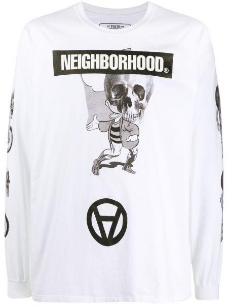 Koszula z długim rękawem z logo prosto Neighborhood