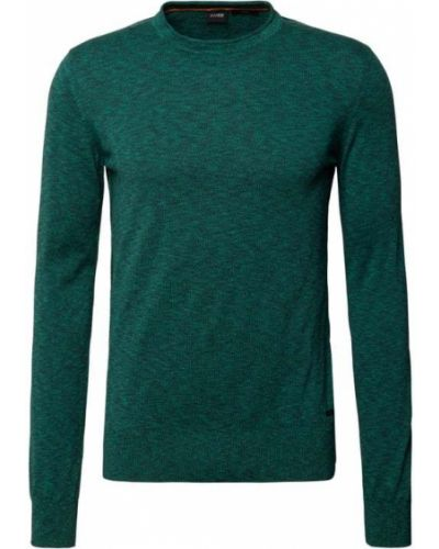 Sweter dzianinowy - turkusowy Boss Casualwear