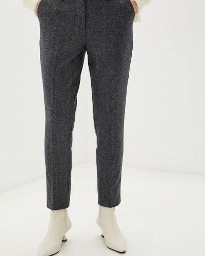 Повседневные серые брюки энсо