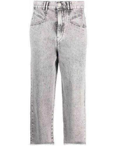 Mom jeans - szare Isabel Marant