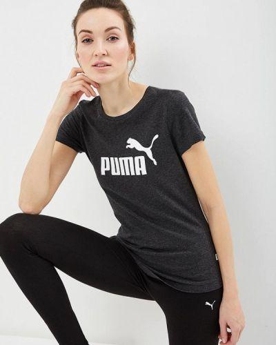 Серое поло Puma