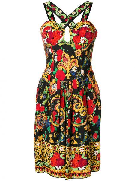 Прямое приталенное платье миди винтажное на шнуровке Christian Lacroix Pre-owned
