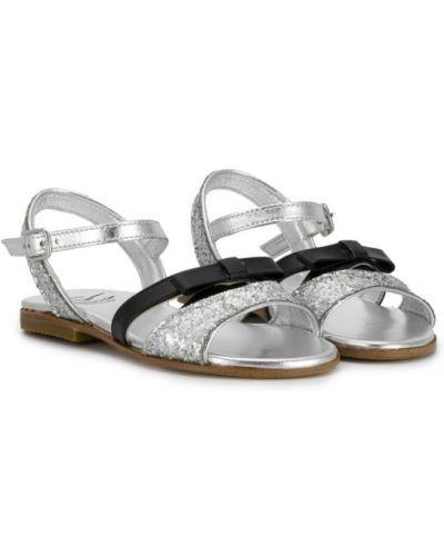 Сандалии с пайетками для обуви Gallucci Kids