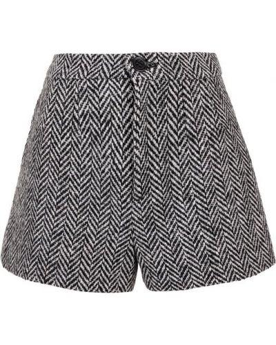 Короткие шорты шелковые шерстяные Redvalentino