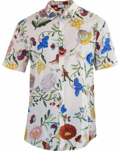 Рубашка прямая яркая Gucci