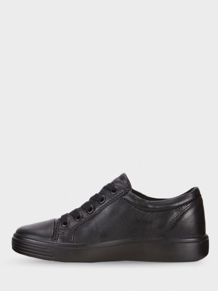 Кожаные полуботинки - черные Ecco