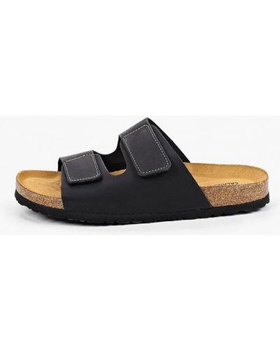 Кожаные сандалии - черные Salamander