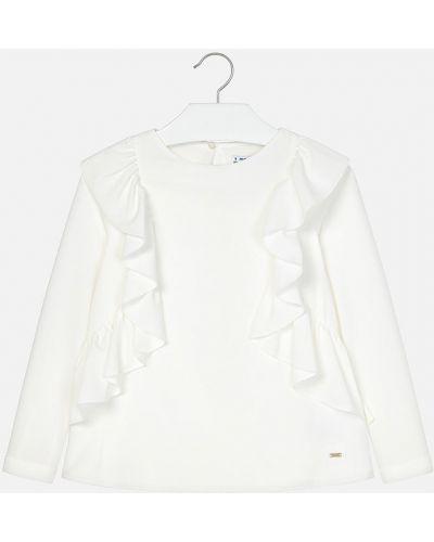 Блуза трикотажная однотонная Mayoral