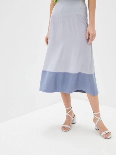 Серое платье Falconeri
