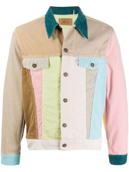 Прямая длинная куртка винтажная с карманами с воротником Levi's Vintage Clothing