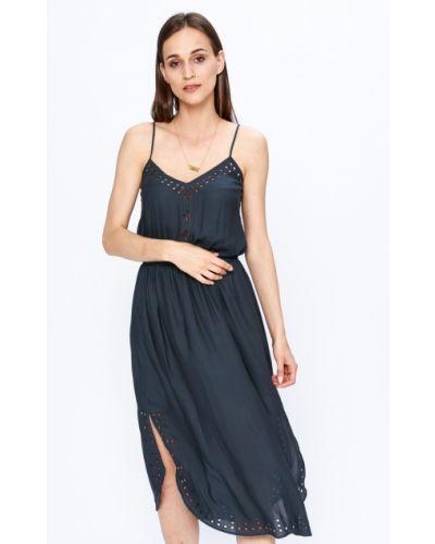 Платье миди с поясом с карманами Scotch & Soda
