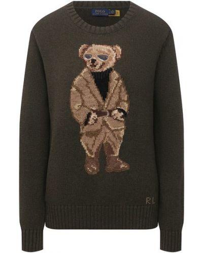 Хлопковый свитер - зеленый Polo Ralph Lauren
