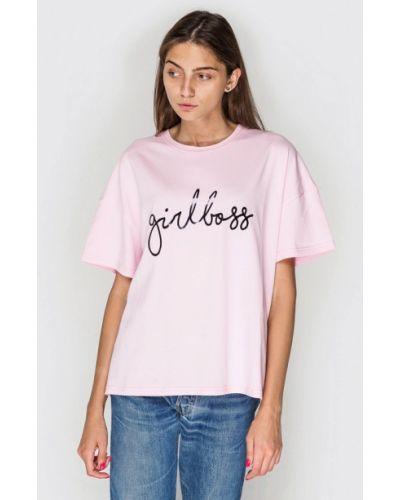 Розовая футбольная футболка Keepstyle