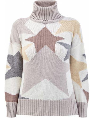 Кашемировый свитер - бежевый Lorena Antoniazzi
