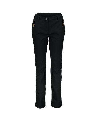Черные утепленные брюки софтшелл Icepeak
