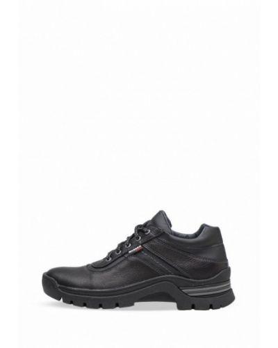 Кожаные кроссовки - черные Bosser