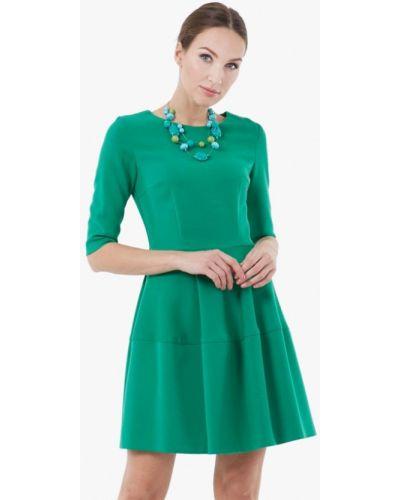 Зеленое повседневное платье Vladi Collection