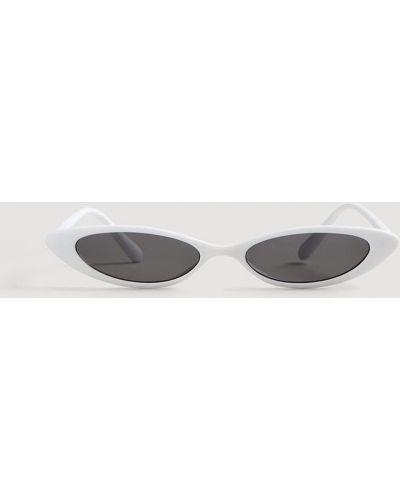 Белые солнцезащитные очки Mango