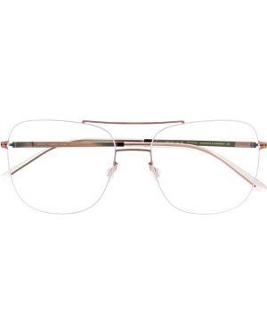 Сиреневые очки металлические Mykita