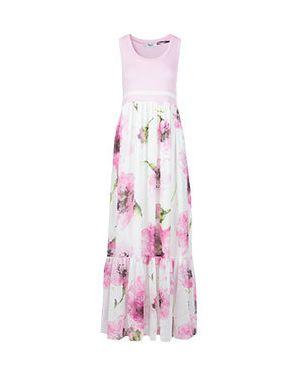 Платье розовое платье-сарафан Blugirl