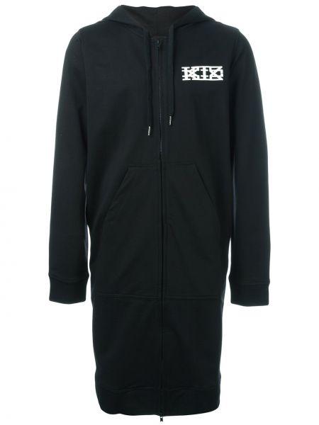 Czarna bluza długa bawełniana Ktz