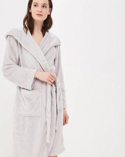 Серый халат домашний Dorothy Perkins