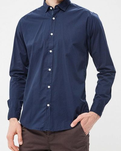 Синяя рубашка Springfield