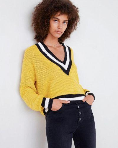 Желтый пуловер Mango