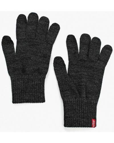 Серые перчатки текстильные Levi's®