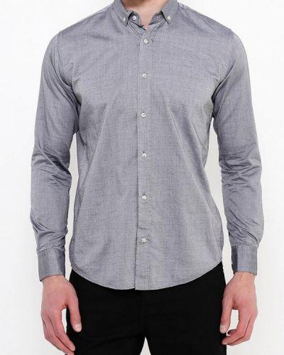 Рубашка с длинным рукавом серая Frank Ny