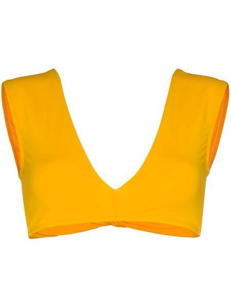 Желтый топ Beth Richards