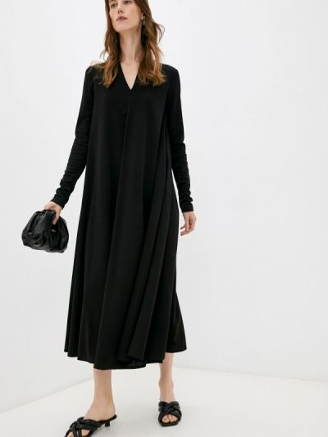 Черное зимнее платье Max Mara Leisure
