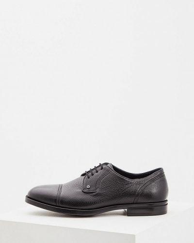 Черные туфли итальянские Aldo Brue
