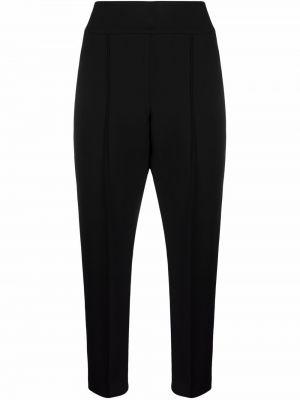 Укороченные брюки - черные Peserico
