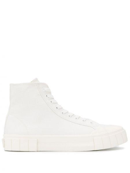 Кроссовки на шнуровке белый Good News