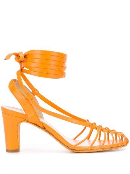 Sandały pomarańczowy piasek Maryam Nassir Zadeh