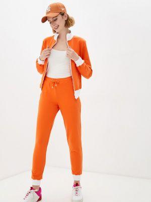 Оранжевый спортивный спортивный костюм Anastasya Barsukova