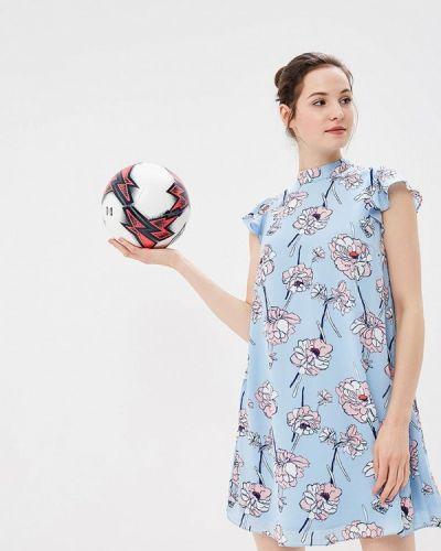 Голубое платье осеннее Befree