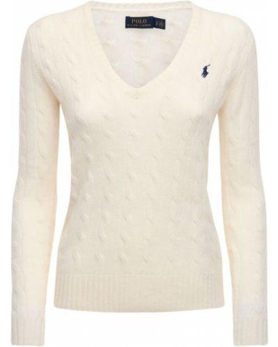 Шерстяной свитер с вышивкой Polo Ralph Lauren