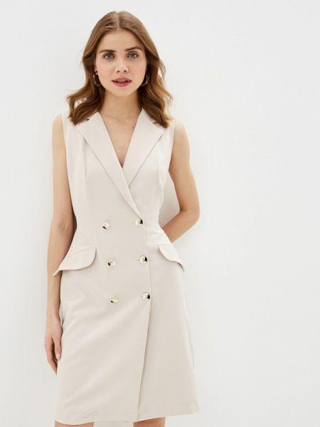 Платье платье-пиджак бежевое Rinascimento