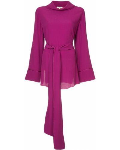 Блузка с длинным рукавом фиолетовый Layeur