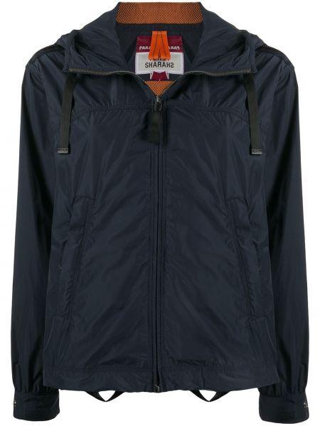 Куртка с капюшоном длинная с карманами Parajumpers
