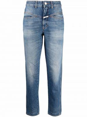 Прямые джинсы классические - синие Closed