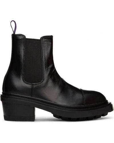 Ботильоны на каблуке - черные Eytys