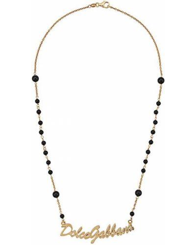 Ожерелье из золота из бисера Dolce & Gabbana