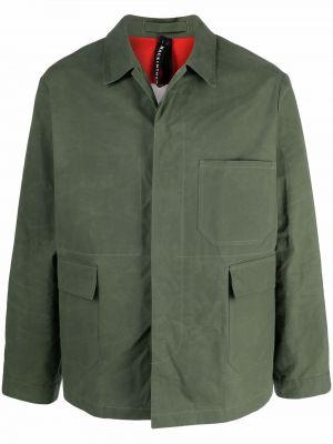 Длинная куртка - зеленая Mackintosh
